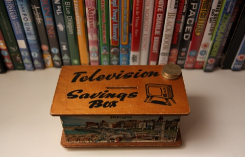 Television savings box